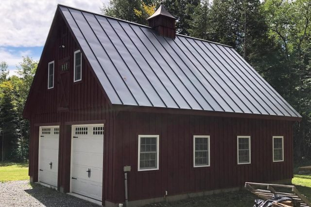 Double Wide Garage – Whitingham, VT