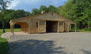 Horse Barns Amish Built Pa Nj Md Ny J Amp N Structures