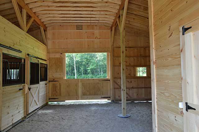 Modular Barn in Rhode Island
