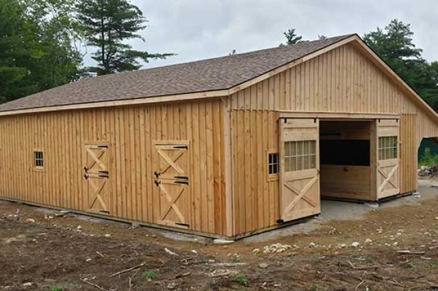36' x 48' Modular Barn