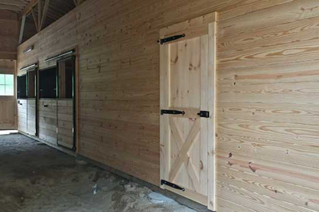 Interior Doors, Modular Barn