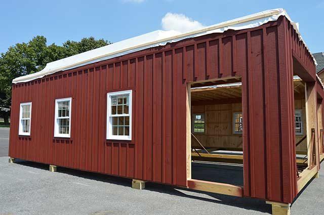 Whitingham, Vermont Garage Exterior