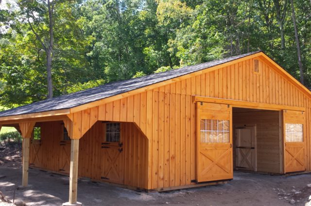 Trailside Modular Barn – Oxford, CT