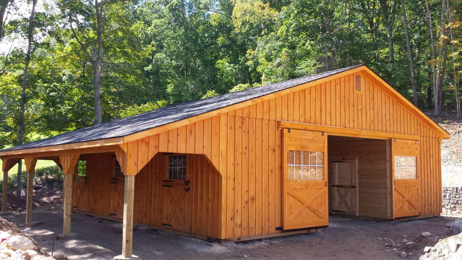 Trailside Modular Barn Oxford Ct J Amp N Structures
