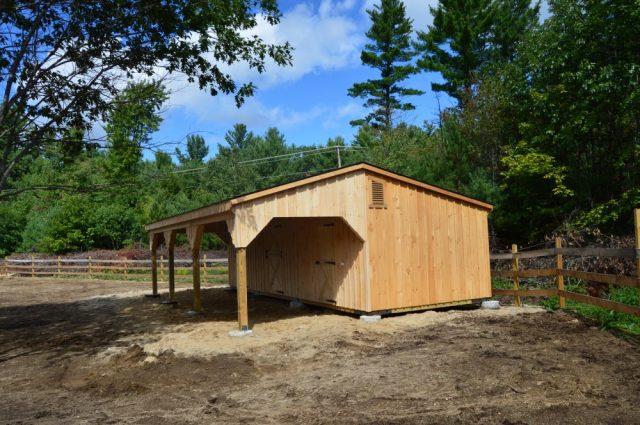 Amazing Wooden Barn