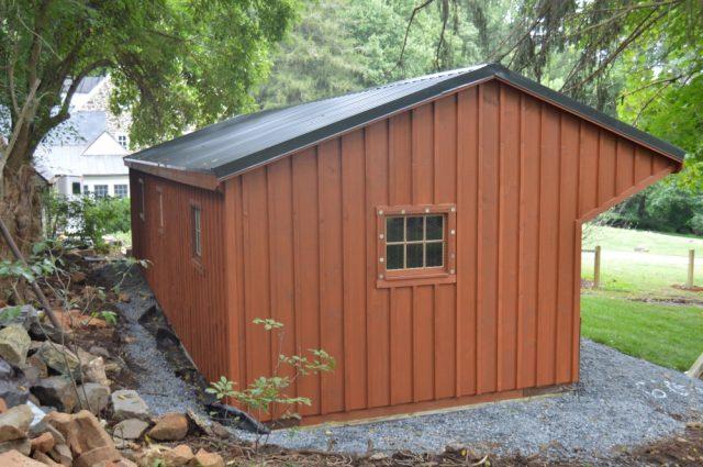 Cedar Stain Barn