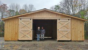 Trailside Style Barn