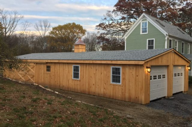 Trailside Double-Wide Garage – Stow, MA