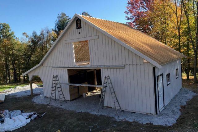 Barn Project In Progress