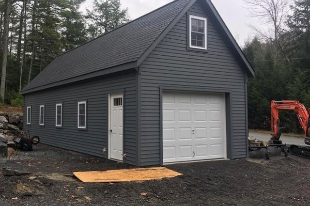 Completed NH Barn