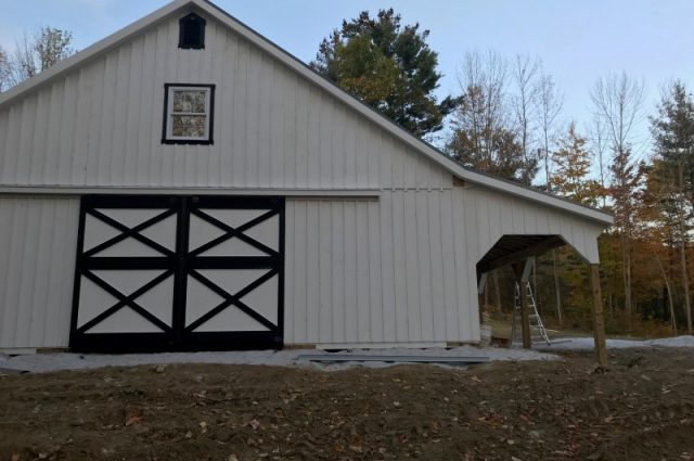 Finished High Country Barn