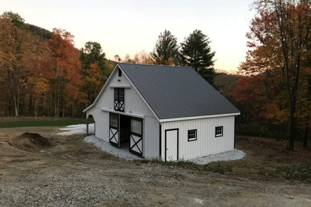 Lean-To Barn – Pawlet, VT