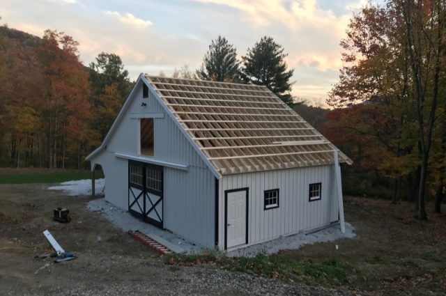 Well Built Pawlet Barn