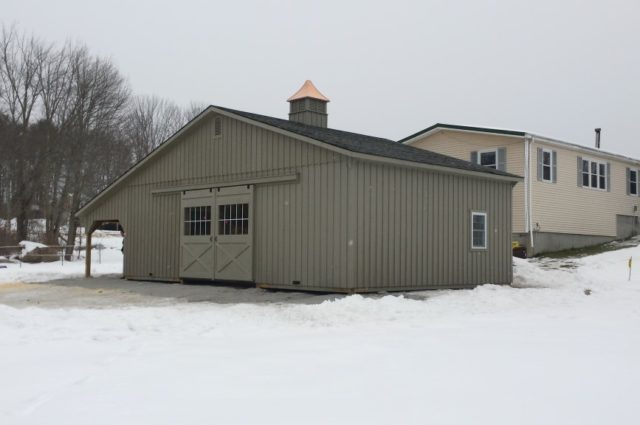 Trailside Modular Barn – Windham, ME