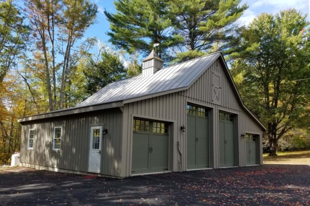 Garage & Enclosed Lean-To – Meredith, NH