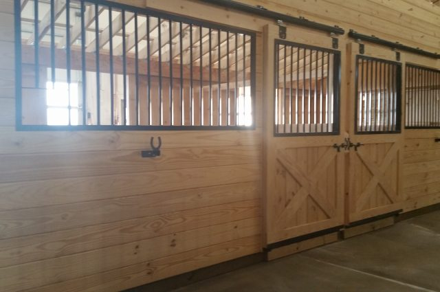 Trailside Modular Barn Horse Stalls Dover Plans, NY