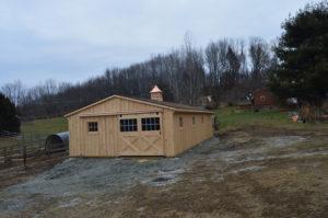 Modular Barn with Cupola