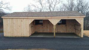 Shed Row Barn Installation 6
