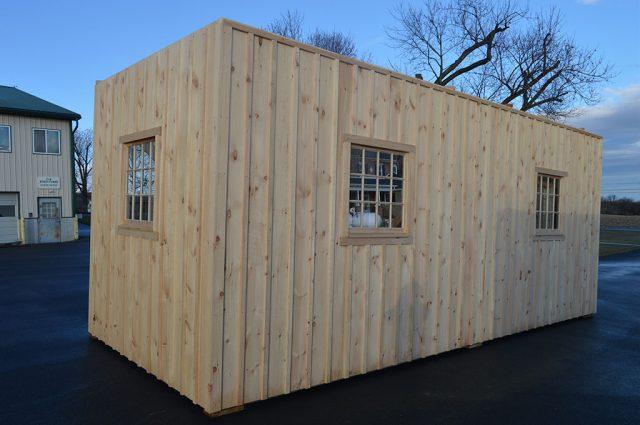 Modular Barn in High Country Style - NH