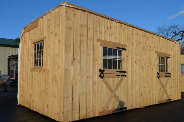 Pre-fabricated modular barn in Sutton, NH