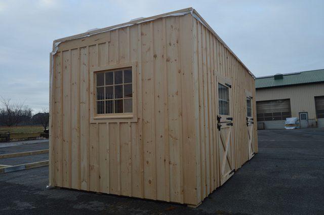 Barn with Two Barn Doors