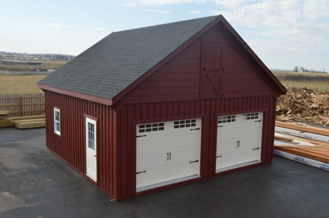 24'x24' double-wide garage Lititz PA
