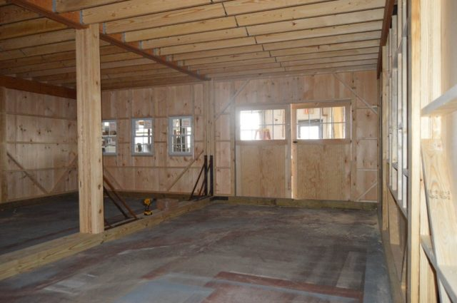 24'x26' double-wide garage with loft Perkasie, PA