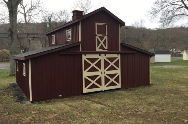 Monitor Modular Barn – Seymour, CT