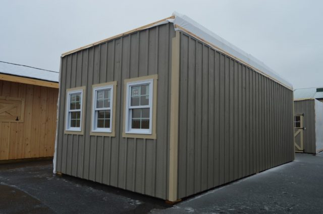 double-wide garage installed in Perkasie, PA
