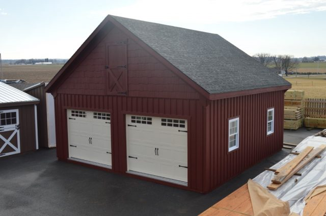 Double-Wide Garage With Loft Built in Lititz, PA