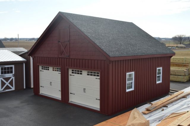 Lititz, PA Double-Wide Garage Builders
