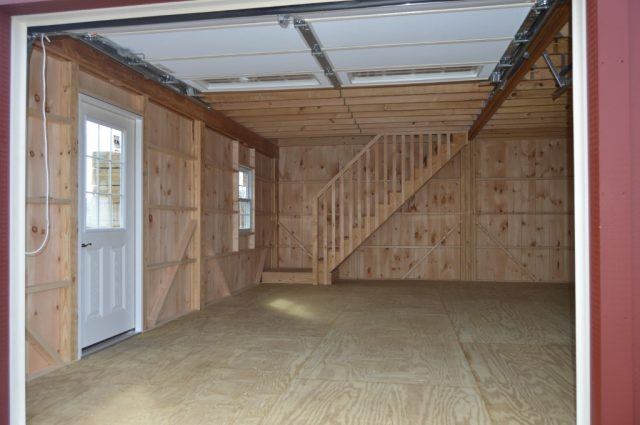 lititz pa two door garage builder