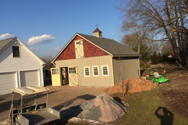 Double-wide Garage with Loft – Perkasie, Pa