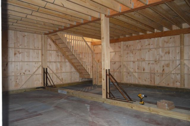 Perkasie PA garage construction