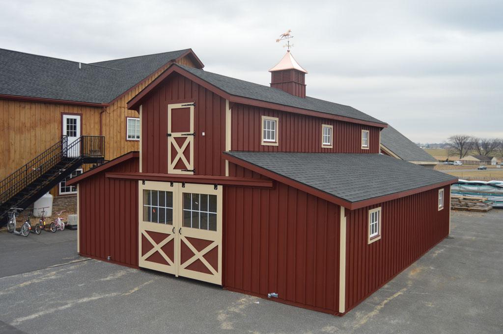 Monitor Modular Barn Bunker Hill Wv J Amp N Structures