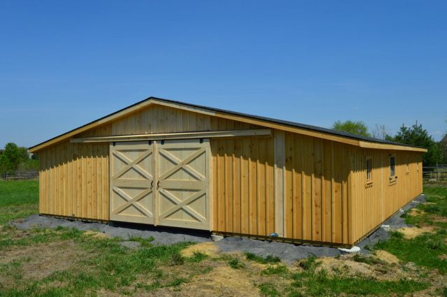 Trailside Style Modular Barn – Medford, NJ