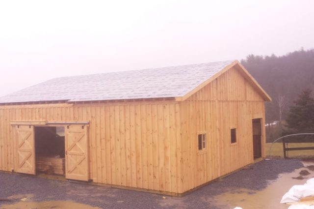 Modular Barn – Millbrook, NY