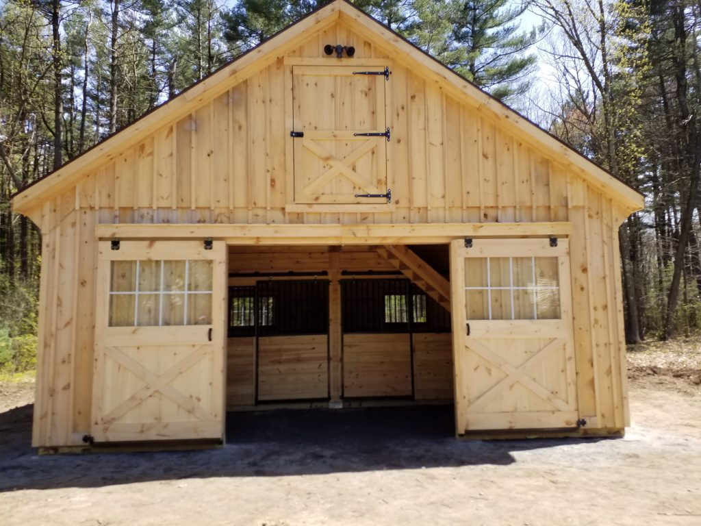 Custom Built Modular Garage