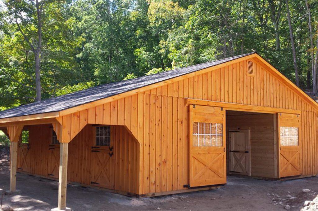 Modular Garage for Backyard Storage