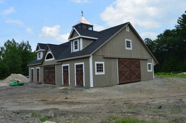 Modular Barn – Littleton, MA