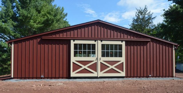 5 Benefits of Low-Profile Horse Barns