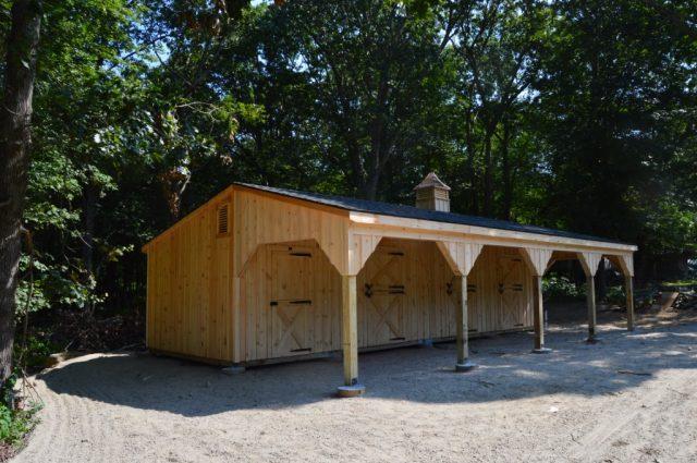 custom built amish barn in pa