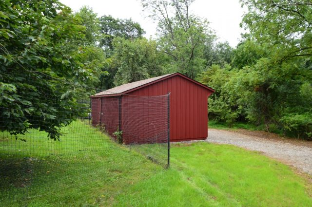 ambler pa shed in field