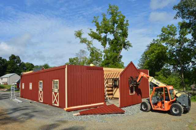 modular barn construction