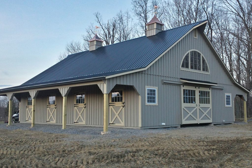 amish built barn in pa