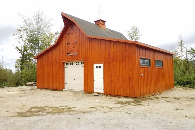 Custom Modular Barns Built by Amish | PA, NJ, MD, NY | J&N Structures