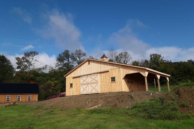 Modular Barn – Hartland, VT