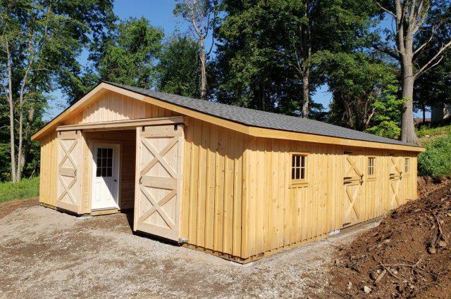 Modular Barn – Groveland, MA