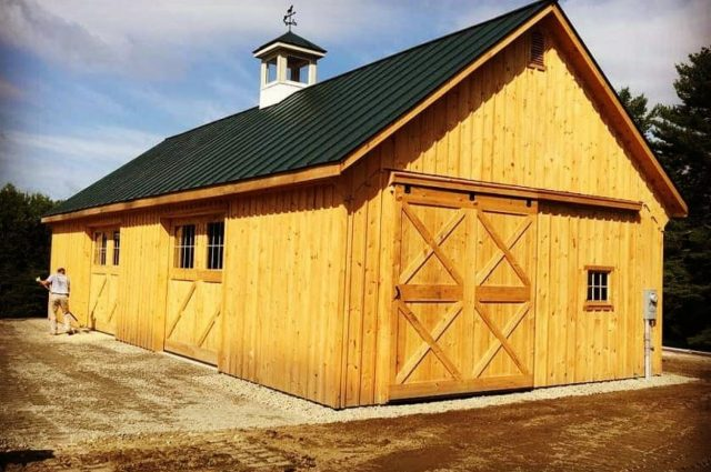 Modular Barn – Plainfield, NH