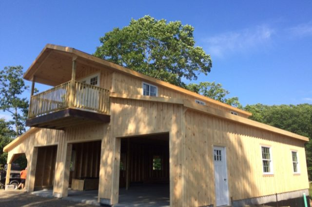 Prefab Garage – Spofford, NH